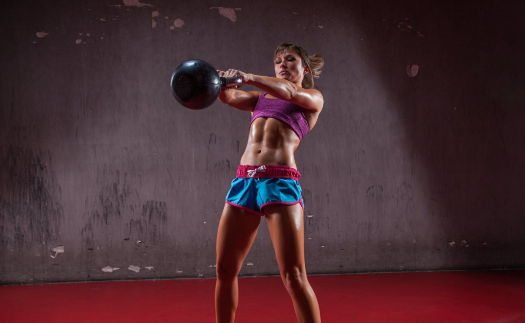 The kettlebell swing is the most prominent workout done with this equipment