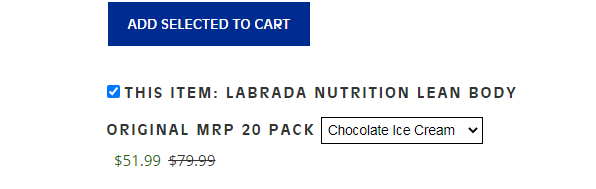 The only downside to this shake is its high price tag
