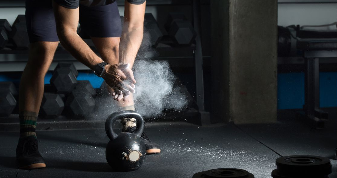 There are 3 moves you can pull off with kettlebells
