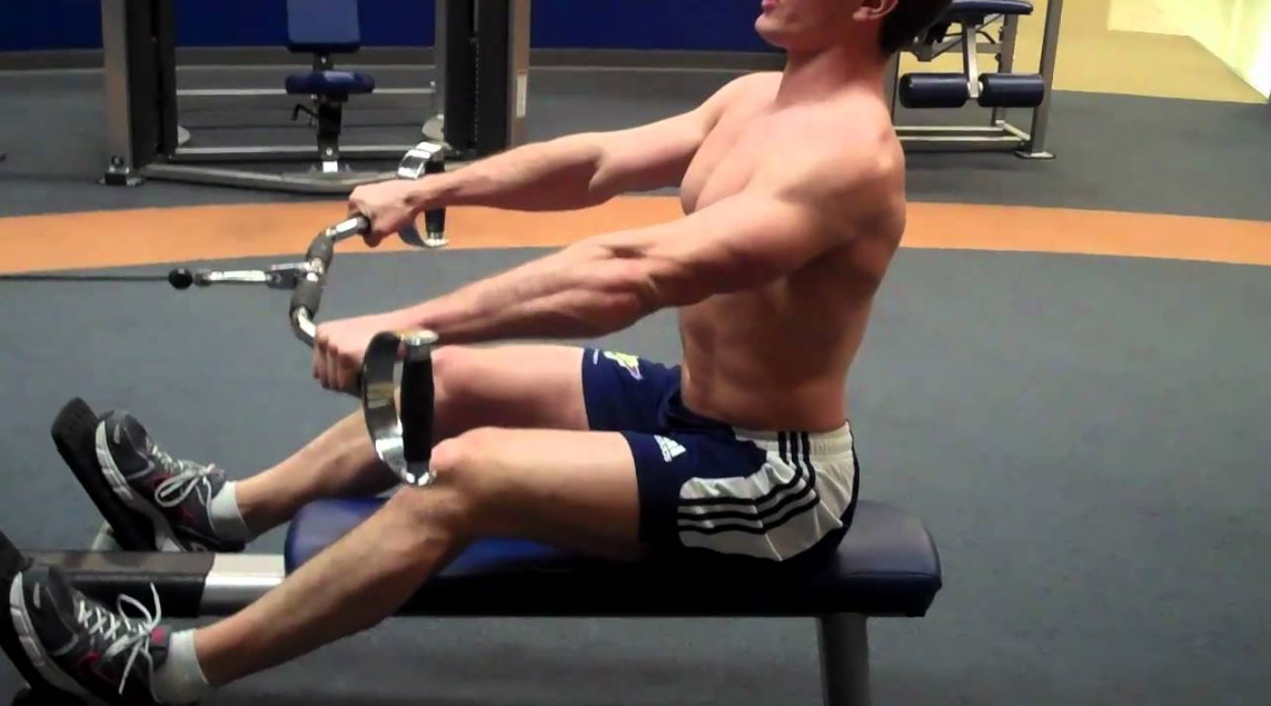 Doing seated rows well will help you get the best out of the exercise