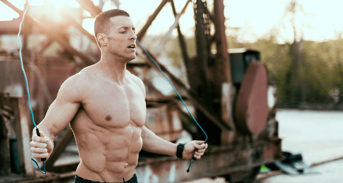 What muscles do jump rope training work