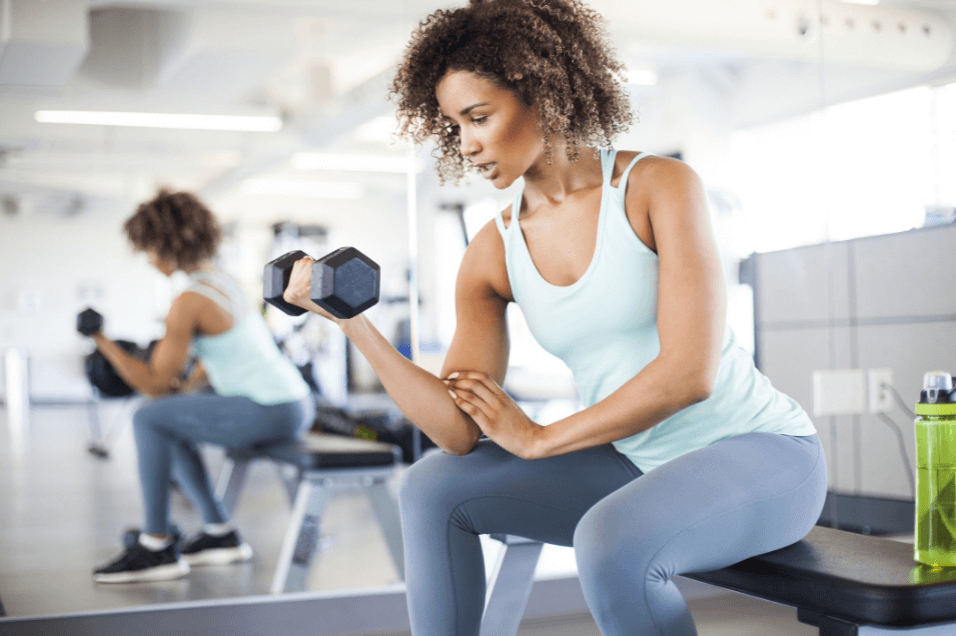 Workout 6 days a week can be tough without letting off stress